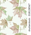 2 Autumn Maple Leaves Pattern 3