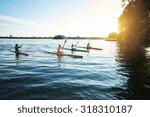 Team Of Sports Kayaks Racing O...