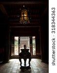 temple of literature  hanoi ... | Shutterstock . vector #318344363