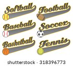sports with tail banners is an... | Shutterstock .eps vector #318396773