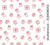 present seamless pattern.... | Shutterstock .eps vector #318408053