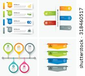 set of infographic templates... | Shutterstock .eps vector #318460517