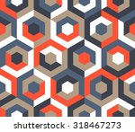 vector seamless pattern.... | Shutterstock .eps vector #318467273