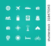 travel icons universal set for... | Shutterstock . vector #318475343