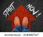 "inspiration quote   "" start now""... 