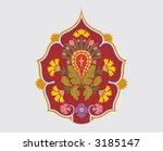 floral background  vector... | Shutterstock .eps vector #3185147