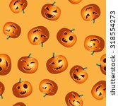 halloween realistic colorful... | Shutterstock .eps vector #318554273