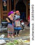 bac ha  vietnam   sep 21  2014  ... | Shutterstock . vector #318556493