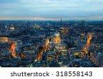 london  night panorama. st.... | Shutterstock . vector #318558143