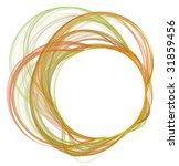 abstract fresh cosmic frame | Shutterstock . vector #31859456