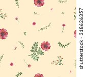 flowers watercolor of floral... | Shutterstock . vector #318626357