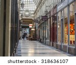paris  france  on august 27 ... | Shutterstock . vector #318636107