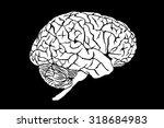 brain. | Shutterstock . vector #318684983