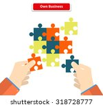 creating or building own... | Shutterstock .eps vector #318728777