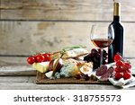still life with various types... | Shutterstock . vector #318755573