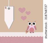 scrapbook design elements. baby ... | Shutterstock .eps vector #318768737