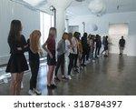new york  ny   september 14 ... | Shutterstock . vector #318784397
