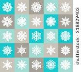 snowflake   Shutterstock .eps vector #318829403