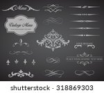 this image is a vector set that ... | Shutterstock .eps vector #318869303