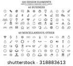 120 design elements   objects ...