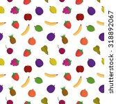 fruit seamless pattern | Shutterstock .eps vector #318892067