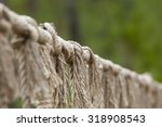 Rope With Tied Knot Of A...