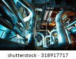industrial zone  steel... | Shutterstock . vector #318917717