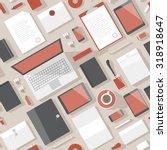 seamless background pattern for ... | Shutterstock .eps vector #318918647