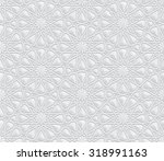 geometric pattern with... | Shutterstock . vector #318991163