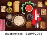 the concept of the classic diet ... | Shutterstock . vector #318992033