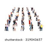 business picture achievement... | Shutterstock . vector #319043657