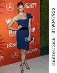 Small photo of WEST HOLLYWOOD, CA/USA - SEPTEMBER 18 2015: Alyssa Sutherland attends the Variety and Women in Film Annual Pre-Emmy Celebration.