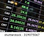 exchange concept | Shutterstock . vector #319075067