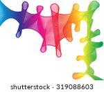 abstract rainbow spectrum...   Shutterstock . vector #319088603