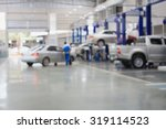 car repair service centre... | Shutterstock . vector #319114523