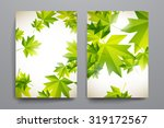 set of brochure  poster... | Shutterstock .eps vector #319172567