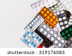 pills in blister pack  medicine | Shutterstock . vector #319176083