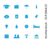 lifestyle vector icons set for... | Shutterstock .eps vector #319186613
