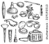 """hand drawn collection of... 