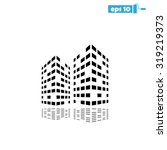 building two | Shutterstock .eps vector #319219373