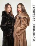 Fashion Shot Of Two Elegant...