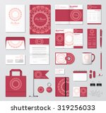 business corporate identity... | Shutterstock .eps vector #319256033