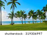 Beautiful Tropical Coast Of...