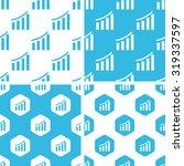 bar graphic patterns set ...