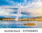 Panoramic View Of Geneva...