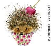 Hedgehog And Dessert With...