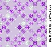 snowflake seamless vector... | Shutterstock .eps vector #319426163