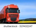 truck on the road | Shutterstock . vector #319432247