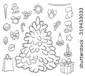coloring book or page ... | Shutterstock .eps vector #319433033