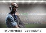 portrait of confident athlete... | Shutterstock . vector #319450043